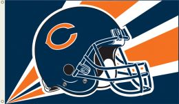 Chicago Bears 3' x 5' Flag w/Grommetts NFL Team Logo