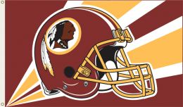 Washington Redskins NCAA Team Logo 3' x 5' Flag w/Grommetts