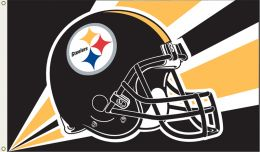 Pittsburgh Steelers NFL Team Logo 3' x 5' Flag w/Grommetts
