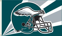 Philadelphia Eagles 3' x 5' Flag w/Grommetts NFL Team Logo