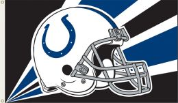 Indianapolis Colts 3' x 5' Flag w/Grommetts NFL Team Logo