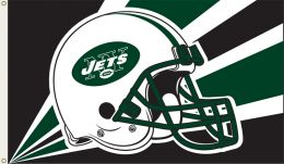 New York Jets 3' x 5' Flag w/Grommetts NFL Team Logo