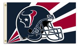 Houston Texans 3' x 5' Flag w/Grommetts NFL Team Logo