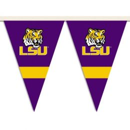 Louisiana State Tigers School Logo 25 Ft. Party Pennant Flags