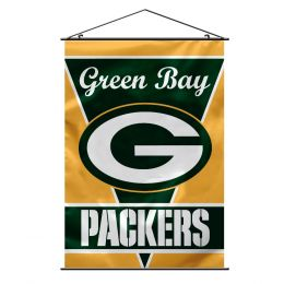 Green Bay Packers Wall Banner NFL Team Logo Green & Gold