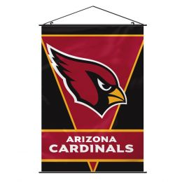 Arizona Cardinals NFL Team Logo Wall Banner w/ Hanger String