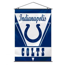 Indianapolis Colts Wall Banner NFL Team Logo White