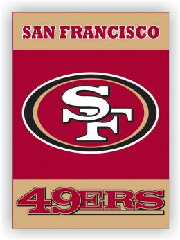 San Francisco 49Ers 2-Sided 28 X 40 House Banner NFL Team Logo