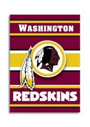 Washington Redskins NFL Team Logo 2-Sided 28 X 40 House Banner