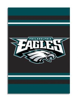 Philadelphia Eagles NFL Team Logo  2-Sided 28 X 40 House Banner