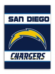 San Diego Chargers 2-Sided 28 X 40 House Banner NFL Team Logo