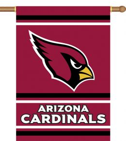 Arizona Cardinals 2-Sided 28 X 40 House Banner w/ Pole Sleeve