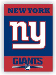 New York Giants 2-Sided 28 X 40 House Banner NFL Team Logo
