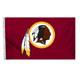 Washington Redskins NFL Team Logo 3' x 5' Flag w/Grommetts