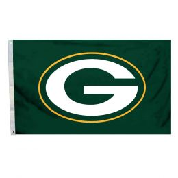 Green Bay Packers NFL Team Logo 3' x 5' Flag w/Grommetts