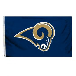 St. Louis Rams 3' x 5' Flag w/Grommetts NFL Team Logo Blue & Gold