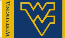 West Virginia Mountaineers School Logo 3' x 5' Flag w/Grommets