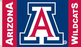 Arizona Wildcats 3' x 5' Team Logo House Flag w/Grommets