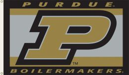 Purdue Boilermakers College Team Logo 3' x 5' Flag w/Grommets