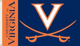 Virginia Cavaliers College Team Logo 3' x 5' Flag w/Grommets