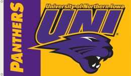 Northern Iowa 3' x 5' Flag w/Grommets College Team Logo
