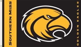 Southern Miss Golden Eagles 3' x 5' Flag w/Grommets College Logo