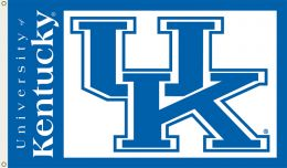 Kentucky Wildcats 3' x 5' Flag w/Grommets NCAA College Logo