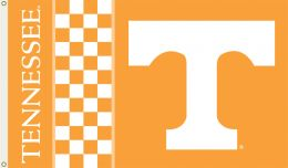 Tennessee Volunteers 3' x 5' Flag w/Grommets NCAA Team Logo