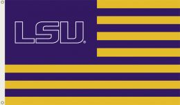 Louisiana State Tigers Team Logo 3' x 5' Flag w/Grommets