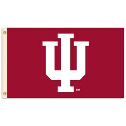 Indiana Hoosiers 3' x 5' Flag w/Grommets College Team Logo