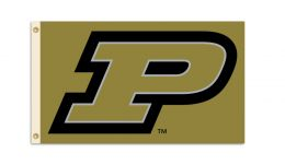 Purdue Boilermakers 3' x 5' Flag w/Grommets College Team Logo