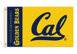 Cal Berkeley Golden Bears 3' x 5' Flag w/Grommets NCAA Team Logo