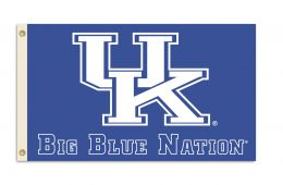 Kentucky Wildcats School Logo 3' x 5' Flag w/Grommets