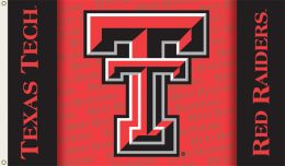 Texas Tech Red Raiders 3' x 5' Flag w/Grommets NCAA College Logo
