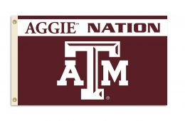 Texas A&M Aggies NCAA College Team Logo 3' x 5' Flag w/Grommets