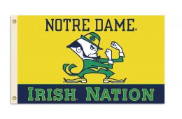 Notre Dame College Team Logo 3' x 5' Flag w/Grommets