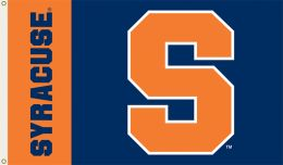 Syracuse Orange College Team Logo 3' x 5' Flag w/Grommets