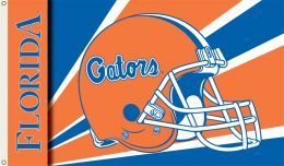 Florida Gators 3' x 5' Flag w/Grommets Helmet Design