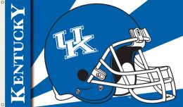 Kentucky Wildcats 3' x 5' Flag w/Grommets Helmet Design