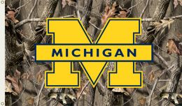 Michigan Wolverines Realtree Camo  3' x 5' Flag w/Grommets