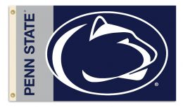 Penn State Nittany Lions 3' x 5' Flag w/Grommets College Team Logo