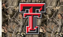 Texas Tech Red Raiders Realtree Camo 3' x 5' Flag w/Grommets