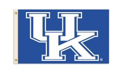 Kentucky Wildcats College Team Logo 3' x 5' Flag w/Grommets