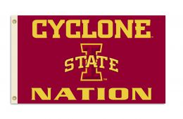 Iowa State Cyclones NCAA College Team 3' x 5' Flag w/Grommets