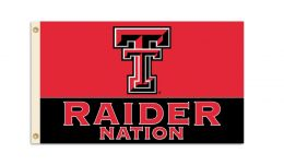 Texas Tech Red Raiders NCAA College Logo 3' x 5' Flag w/Grommets