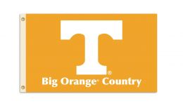 Tennessee Volunteers College Team Logo 3' x 5' Flag w/Grommets