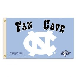 North Carolina Tar Heels Man Cave 3' x 5' Flag w/ 4 Grommets