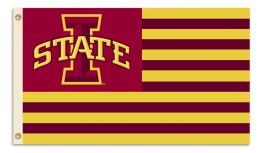 Iowa State Cyclones 3' x 5' Flag w/Grommets College Team Logo
