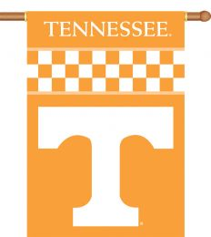 "Tennessee Volunteers Logo 2-Sided 28"" X 40"" Banner w/ Pole Sleeve"