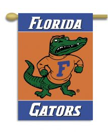 "Florida Gators 2-Sided 28"" X 40"" Banner w/ Pole Sleeve NCAA Logo"
